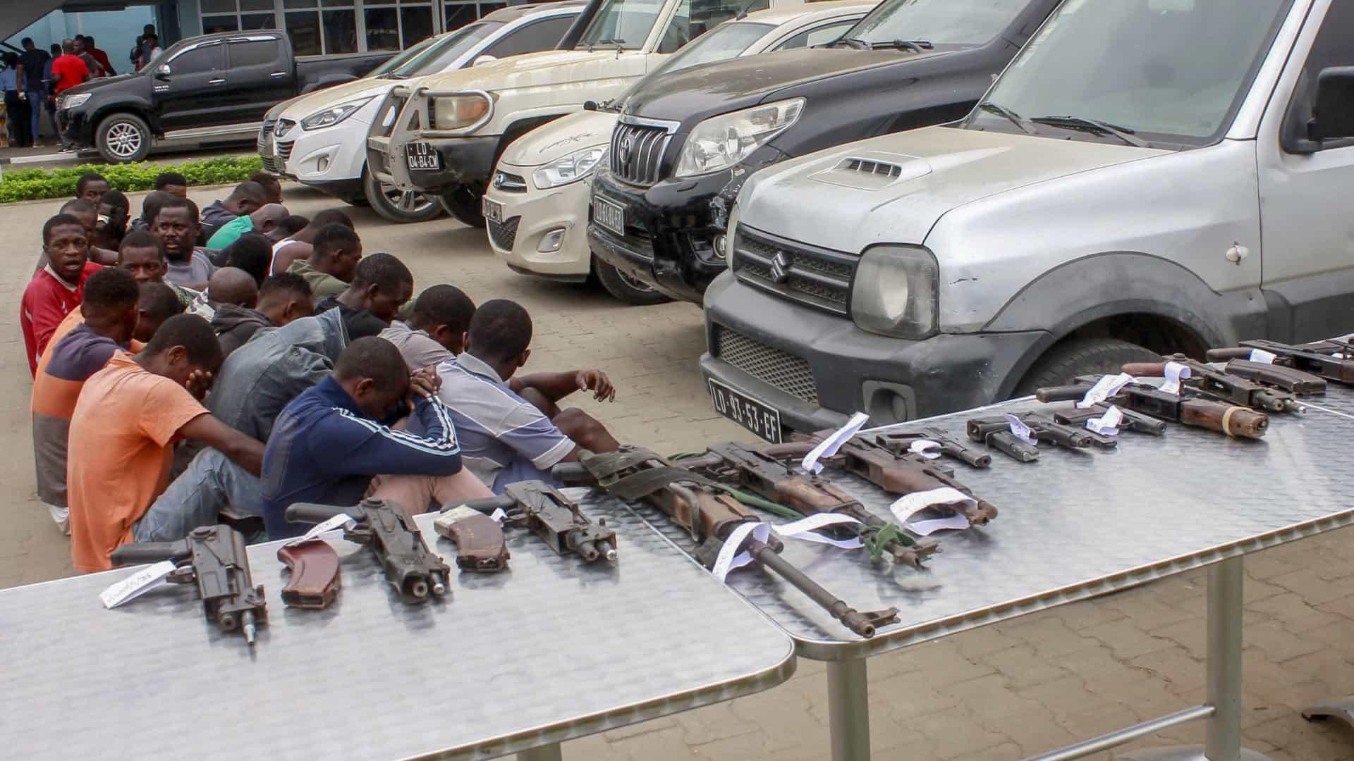 - Criminosos - Polícia Nacional detém 53 criminosos e recupera 21 carros roubados