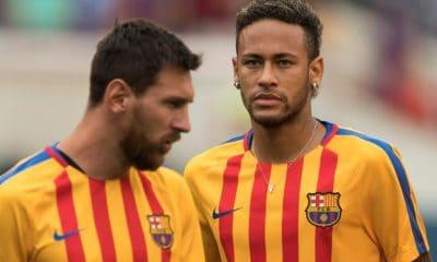 """- MESSI E NEYMAR 400x240 - """"Teria ficado feliz se Neymar tivesse voltado"""", diz Messi"""