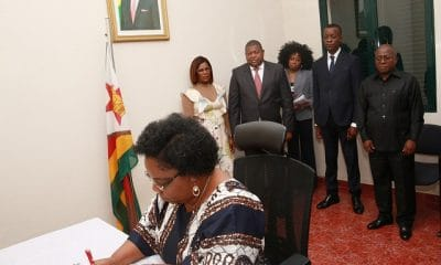 - VP mpla 12 - MPLA rende homenagem a Robert Mugabe