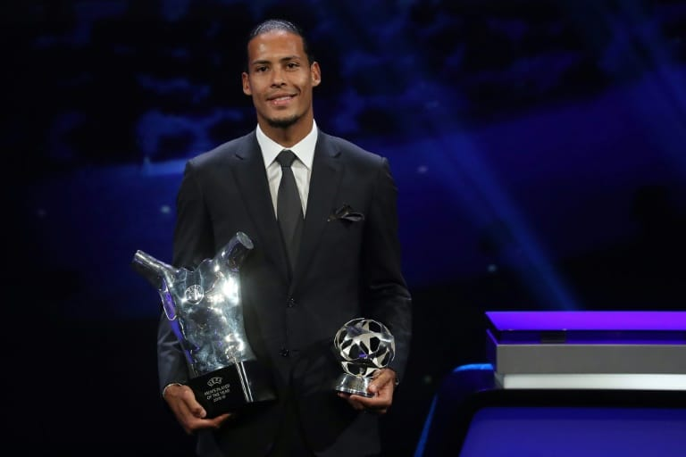 - Virgil van Dijk - Messi, Ronaldo e Van Dijk são os finalistas do prêmio FIFA 'The Best'