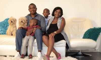 - Wilson Morais e Familia 400x240 - Apesar de intimidações, militantes da JMPLA em Luanda apostam em Wilson Morais