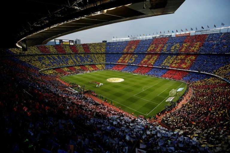 - Est dio Camp Nou - Tensão na Catalunha provoca adiamento do clássico Barcelona-Real Madrid