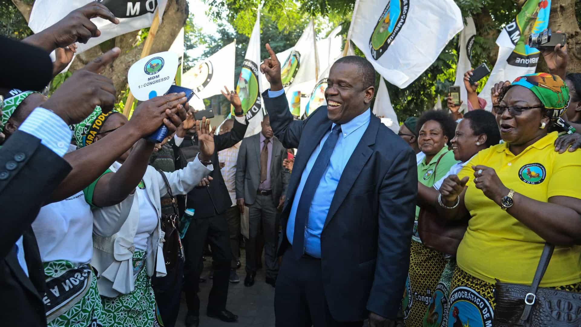 - MDM Mo ambique - Moçambique: Terceiro maior partido diz que não aceita resultados