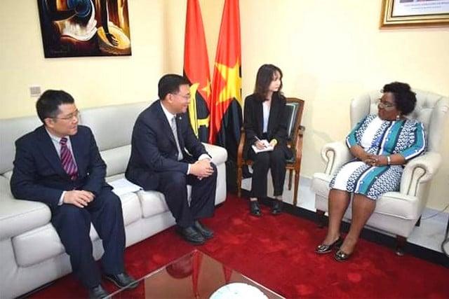 - MPLA e PCC - MPLA e Partido Comunista Chinês reforçam cooperação