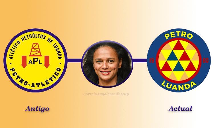 - Petro de Luanda volta ao antigo emblema - Petro de Luanda volta ao antigo emblema