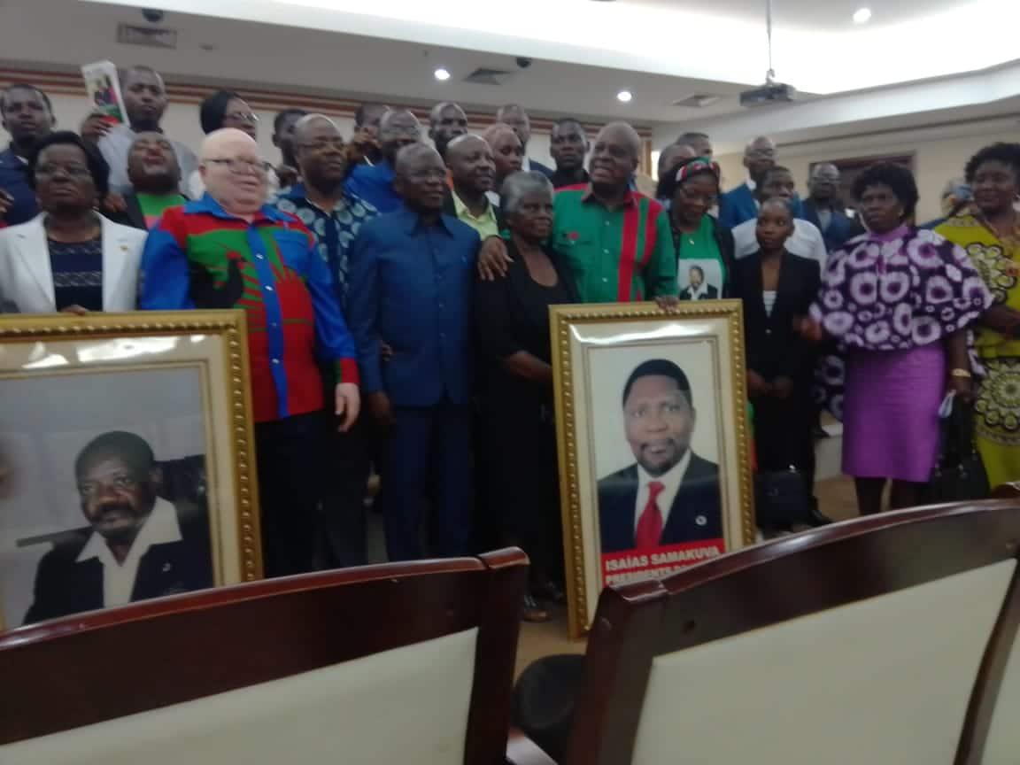 alcides sakala junta filhos de jonas savimbi no lançamento da sua campanha - SAVE 20191017 194749 - Alcides Sakala junta filhos de Jonas Savimbi no lançamento da sua campanha