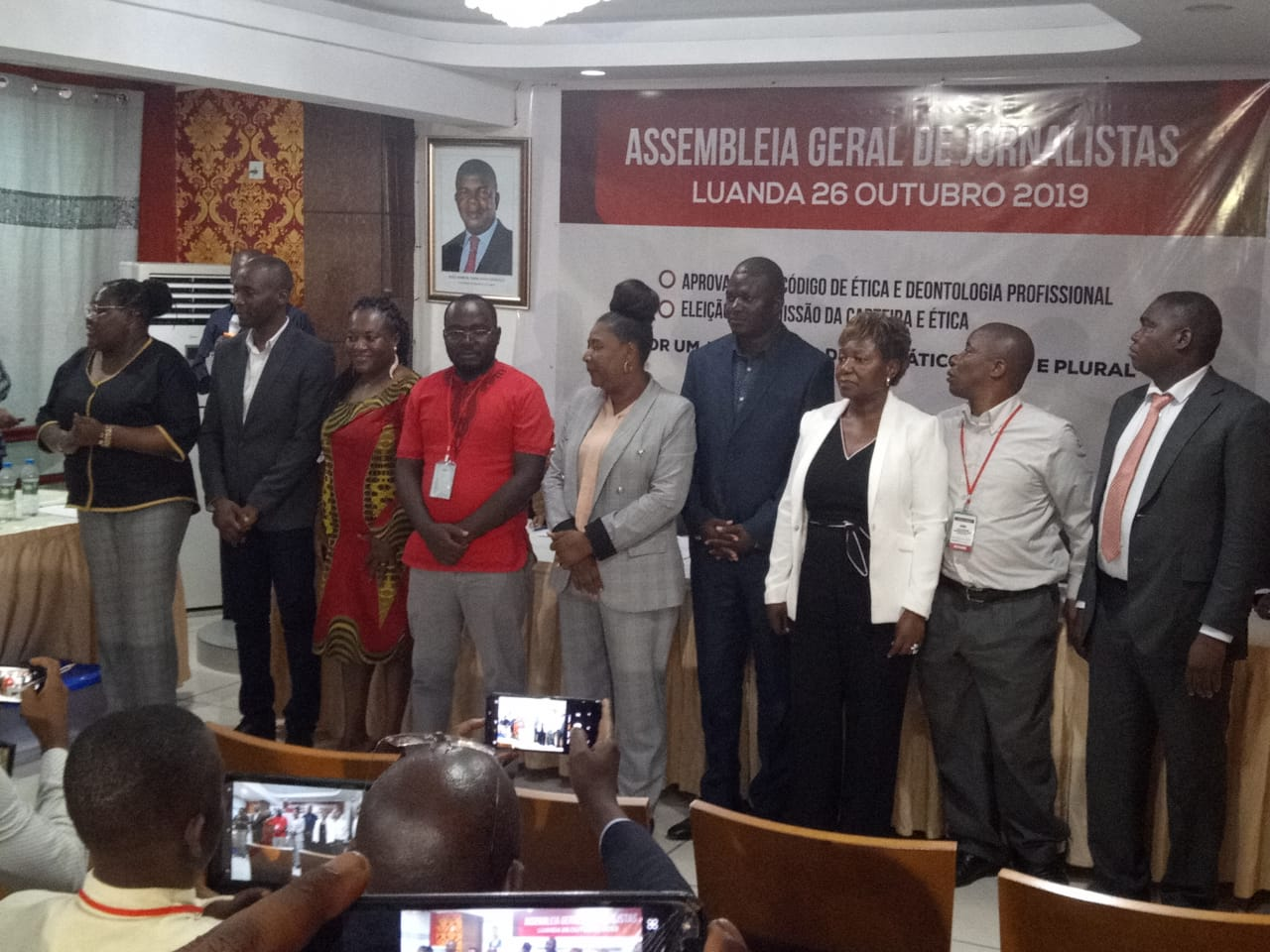 jornalistas angolanos elegem comissão da carteira e Ética - SAVE 20191027 154956 - Jornalistas angolanos elegem Comissão da Carteira e Ética