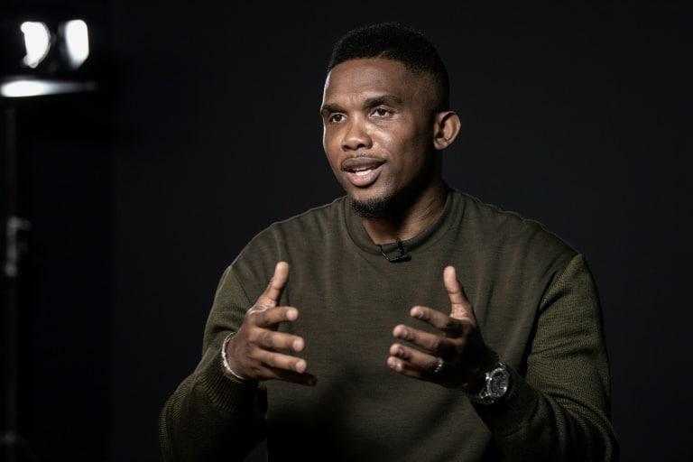 """""""tive a sorte de ter tido uma linda carreira"""", afirma samuel eto'o à afp - Samuel Etoo - """"Tive a sorte de ter tido uma linda carreira"""", afirma Samuel Eto'o à AFP"""