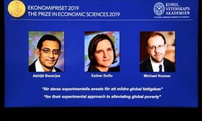 - Vencedores do Nobel de Economia Abhijit Banerjee Esther Duflo e Michael Kremer 400x240 - Americanos vencem Nobel de Economia por trabalhos sobre a pobreza