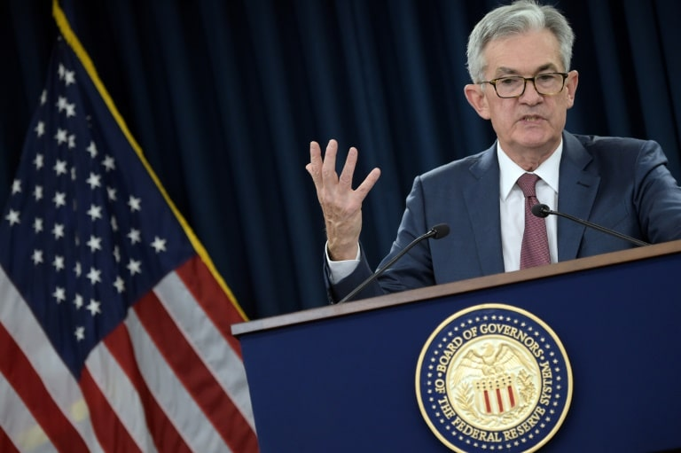 federal reserve corta juros pela terceira vez - presidente do Fed Jerome Powell - Federal Reserve corta juros pela terceira vez
