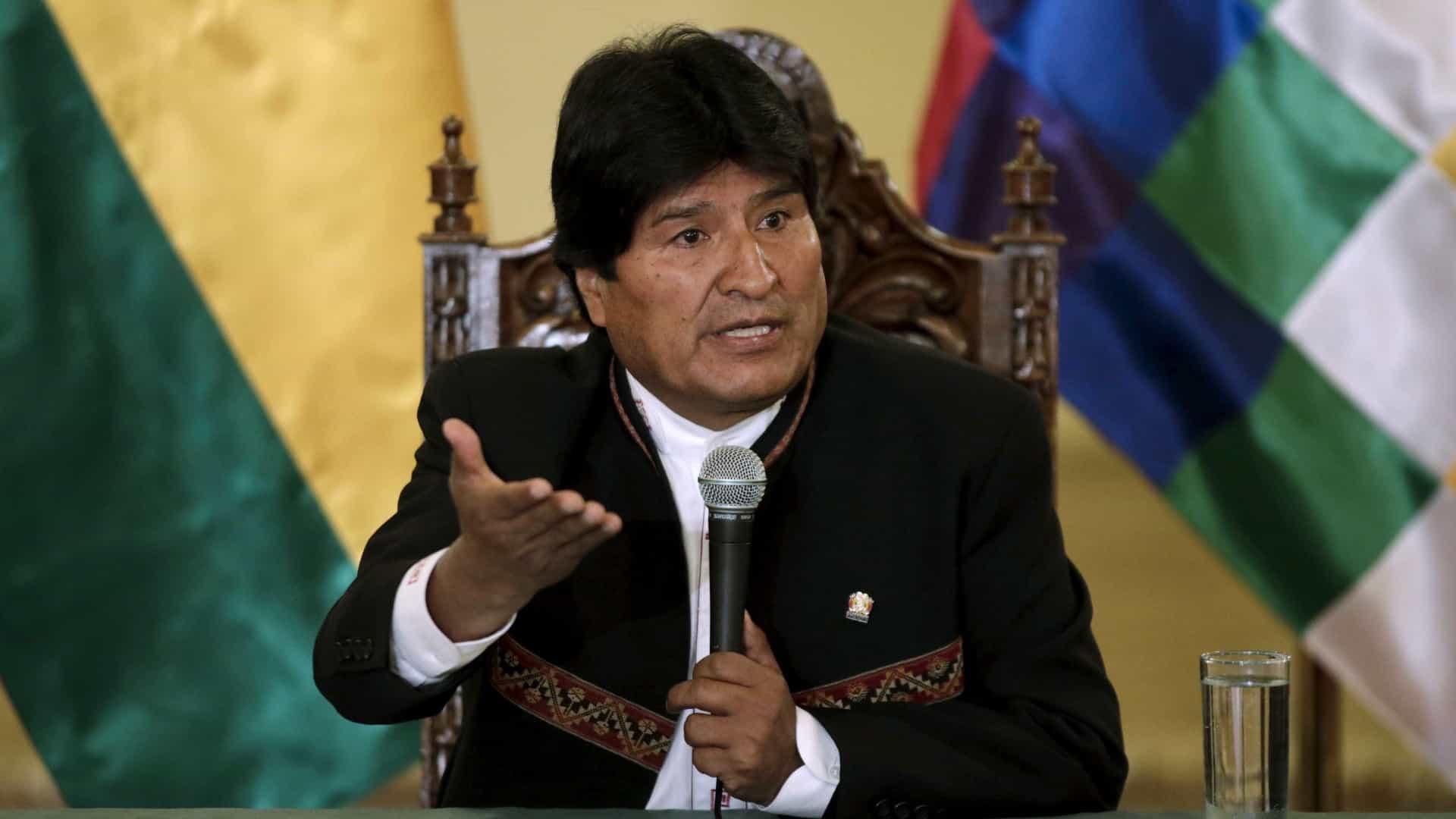 méxico oferece asilo ao presidente da bolívia após a renúncia do cargo - Evo Morales 1 - México oferece asilo ao Presidente da Bolívia após a renúncia do cargo