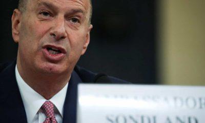 """embaixador confirma que pressionou ucrânia por ordem """"expressa"""" de trump - Gordon Sondland 400x240 - Embaixador confirma que pressionou Ucrânia por ordem """"expressa"""" de Trump"""