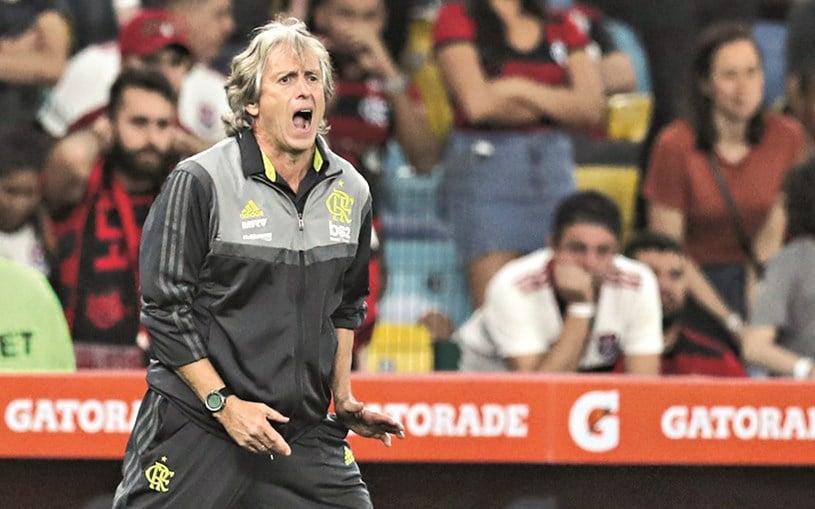 - JORGE JESUS - Jorge Jesus busca conquistar tudo com seu Flamengo revolucionário