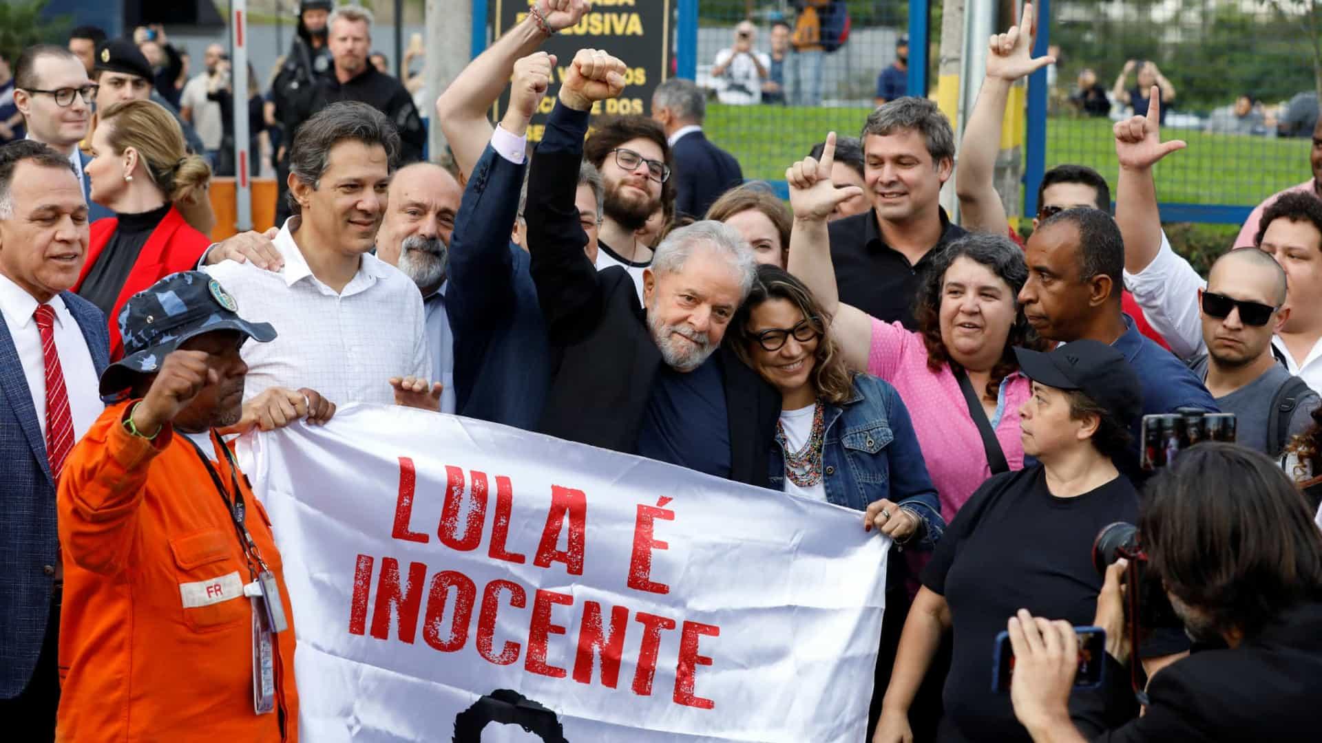 lula da silva libertado - LULA LIVRE - Lula da Silva libertado