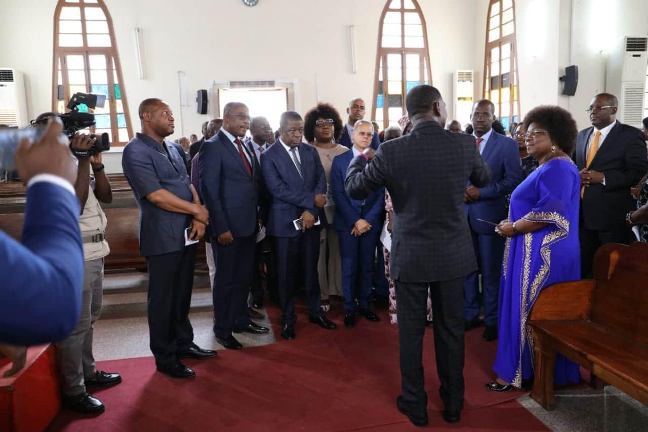 vice-presidente do mpla visita igreja metodista - Metodista 14 - Vice-Presidente do MPLA visita Igreja Metodista