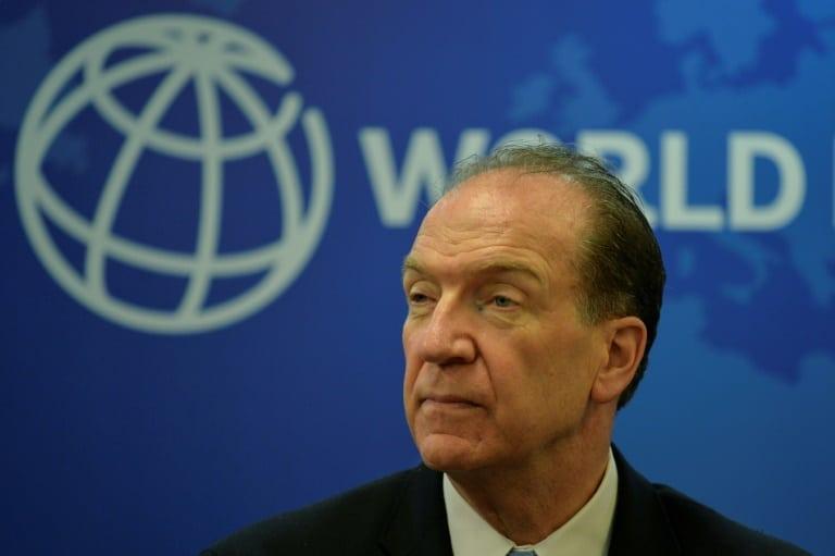 - Presidente do Banco Mundial David Malpass - Banco Mundial pede à China reformas econômicas
