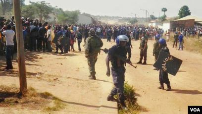 polícia desmente morte por tortura na lunda norte - munic pio do Cuango Policia - Polícia desmente morte por tortura na Lunda Norte