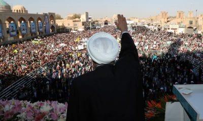 - presidente iraniano Hasan Rohani 400x240 - Irã descobre campo de petróleo com reservas de 53 bilhões de barris