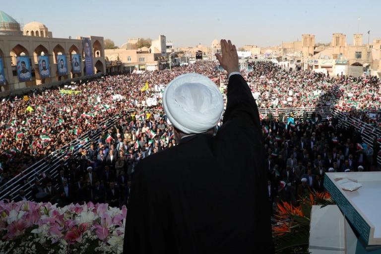 irã descobre campo de petróleo com reservas de 53 bilhões de barris - presidente iraniano Hasan Rohani - Irã descobre campo de petróleo com reservas de 53 bilhões de barris