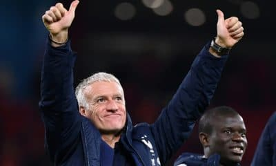 - Deschamps 400x240 - Deschamps renova contrato para ser treinador da França até Mundial de 2022