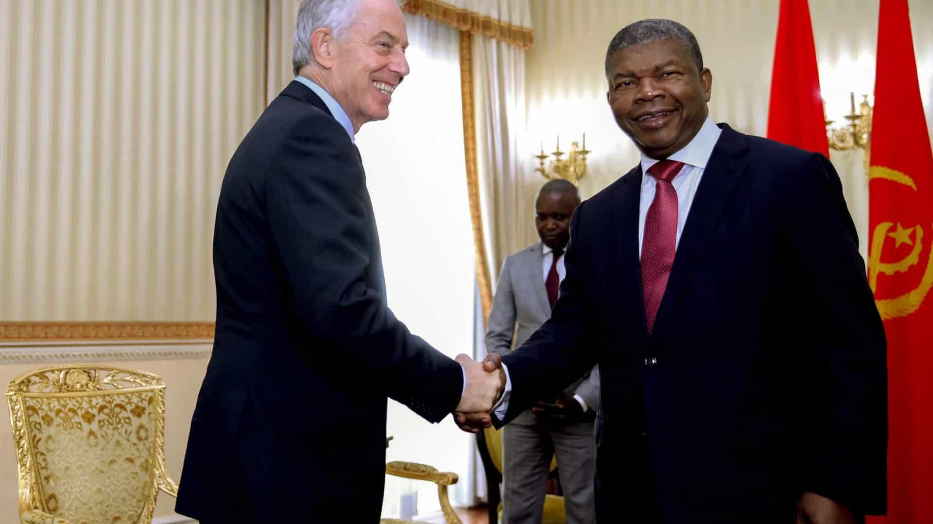 - Tony Blair e JLO - Antigo primeiro-ministro britânico elogia João Lourenço